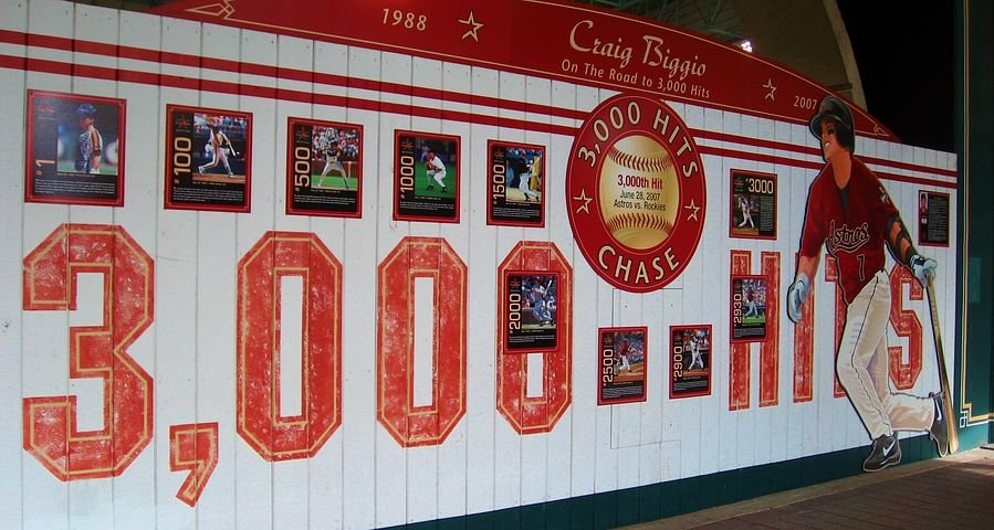 houston baseball wall