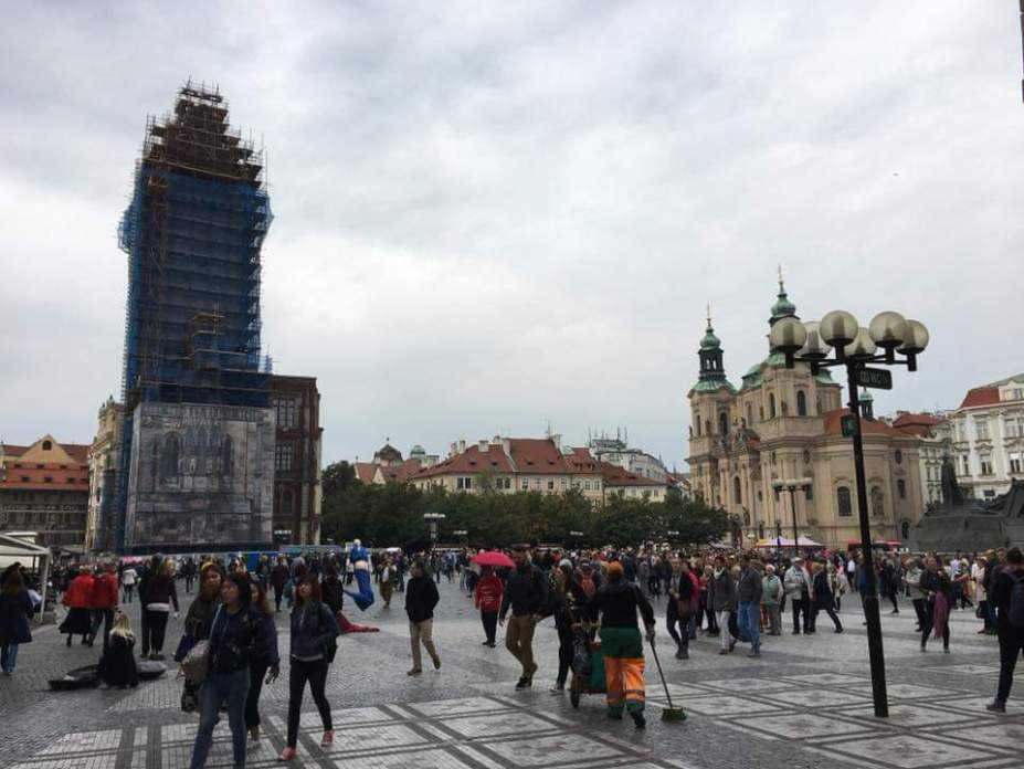 Oude Stadsplein Praag