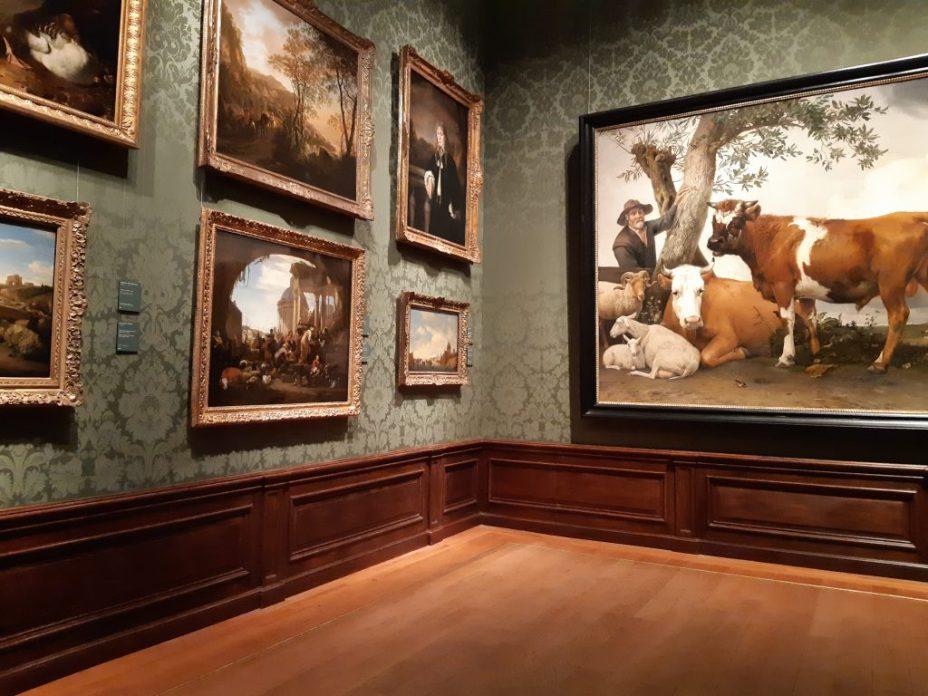 linkerhoek schilderijen in mauritshuis