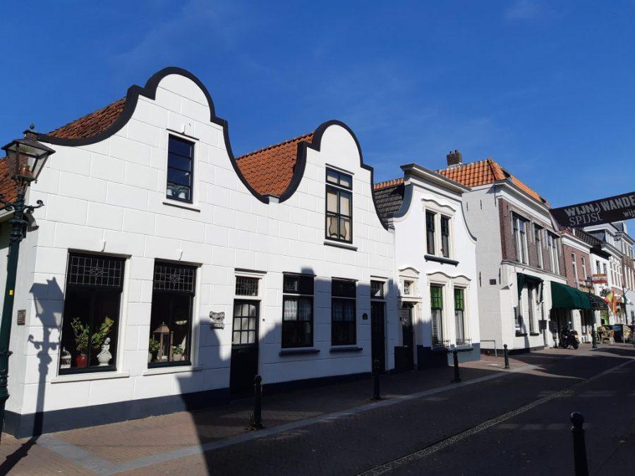 Drie witte huisjes Zoetermeer