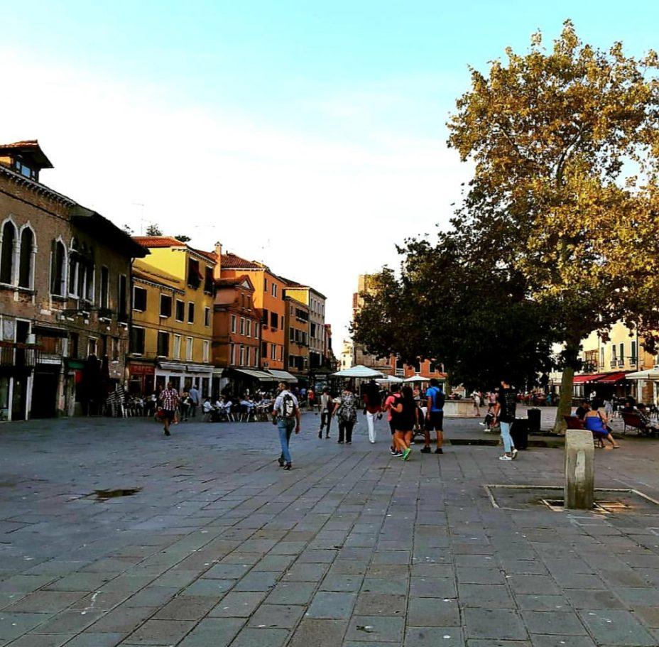 Piazza Santa Margharita Venice