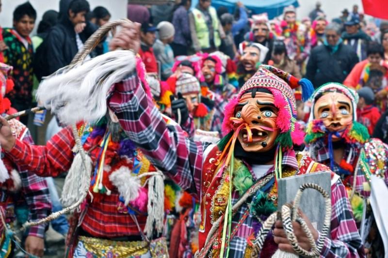 The Fiesta de la Virgen del Carmen is one of many Peruvian festivals related to the Catholic religion.