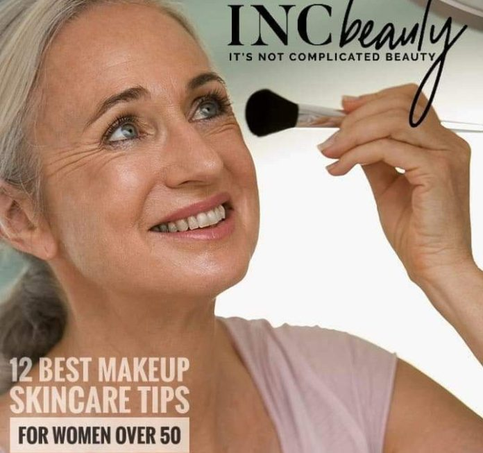 12 Best Makeup Skincare Tips For Women Over Fifty It S Not Complicated Beauty