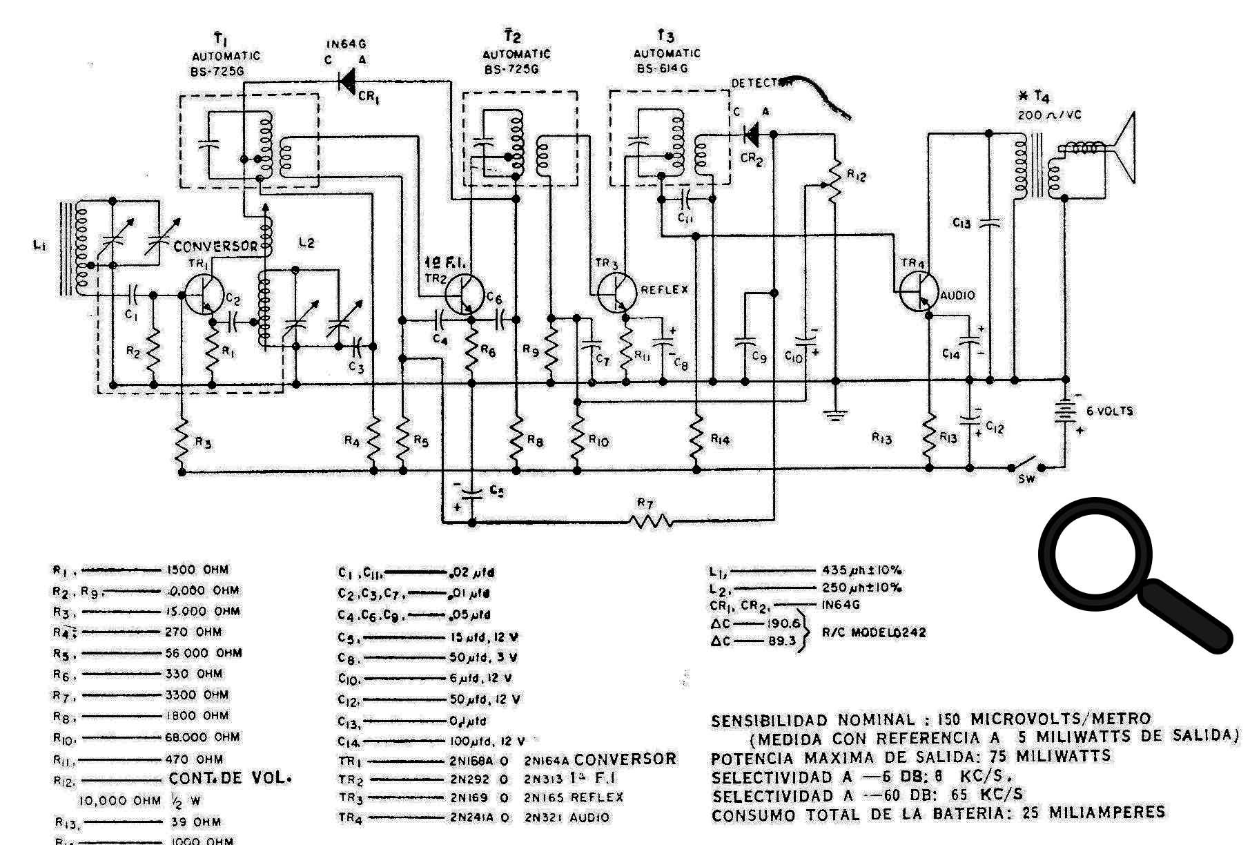 Superheteredyne Mw Receiver Cb962e