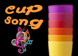 Cup Song animation ice breaker percussions