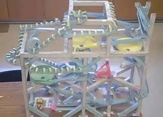 activité construction de roller coaster