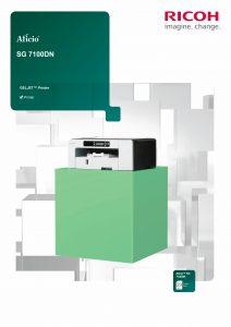 Ricoh SG7100dn Brochure image
