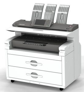 Image of MP W7100SP WideFormat Printer