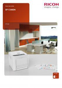 SPC340DN Brochure image