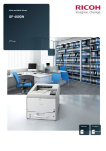 Ricoh SP450DN Brochure