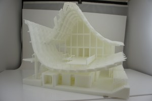 China House front 3D Print