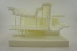 China House split 3D Printing