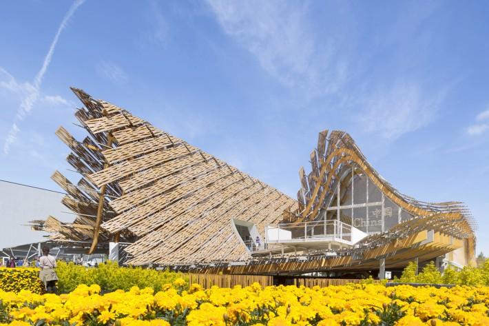 China House Build Finished Pavillion link arc