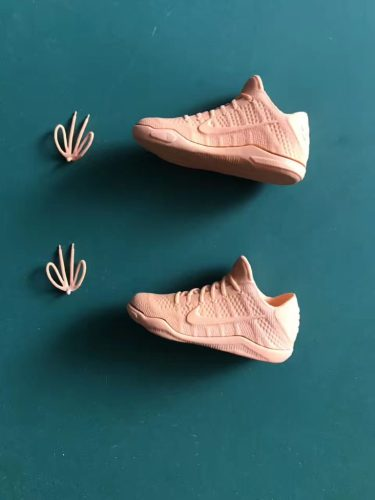 3D Printed Wax Toy Shoes Side