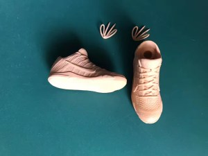 3D Printed Wax Shoes