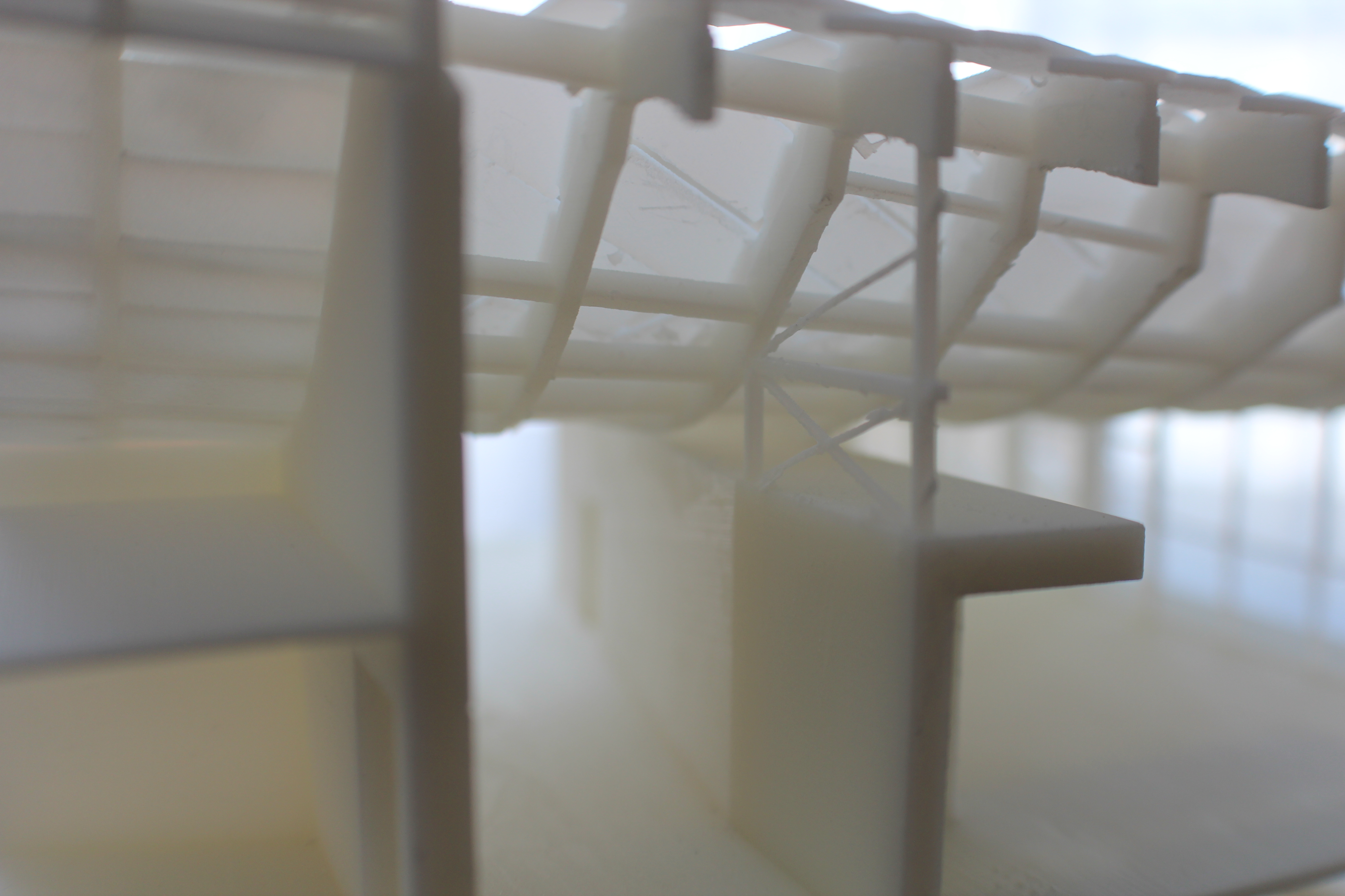 3D printed China House truss