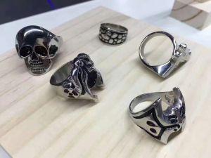 Metal 3D Printing rings silver