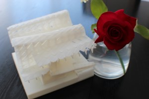 3D printed China House rose