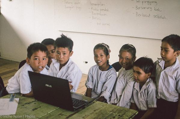 pelajar sekolah sk kapitangan pulau banggi