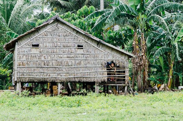 Rumah penduduk pulau banggi