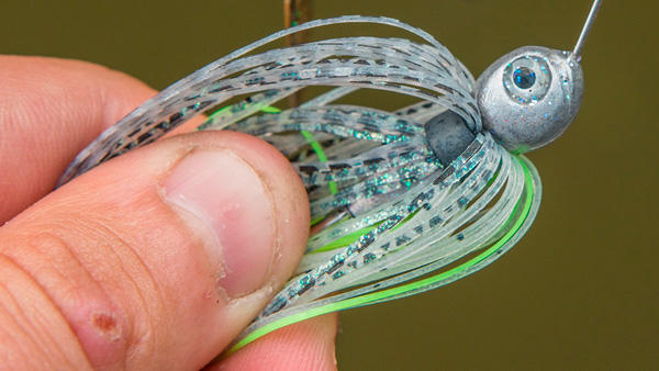 skirt gewang spinnerbait