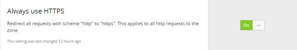SSL Percuma cloudflare