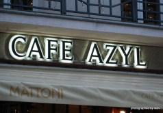 Nicht direkt ein Schild. Aber ich dachte, wenn hier schon ein Café so heißt...
