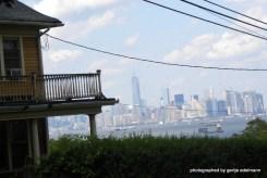 Blick von Staten Island nach Manhattan