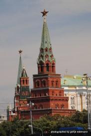 Der Kreml von der Moskwa aus