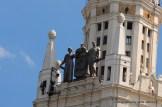 """Detail an einer """"Stalin -Kathedrale"""""""