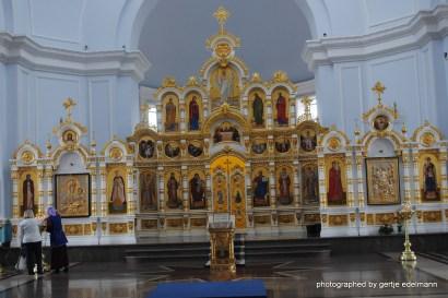 Ikonostase in der Mariä-Himmelfahrt-Kathedrale