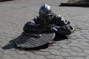 Uliza Lenina, Kanalarbeiter Stepan