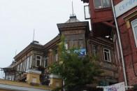 Die ehemaligen Wohnhäuser für die Mitarbeiter der Handelsfirma