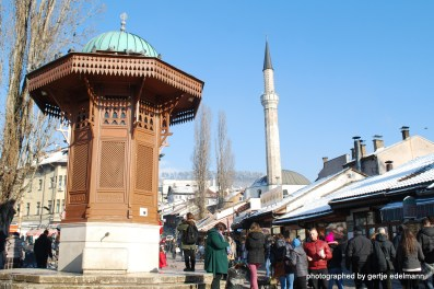 Sebilj und Cekrekcija Moschee
