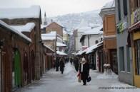 Blick vom osmanischen in das österreichische Viertel