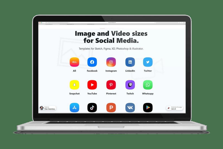 Social Sizes: site informa as dimensões ideais para publicação de artes nas redes sociais da igreja
