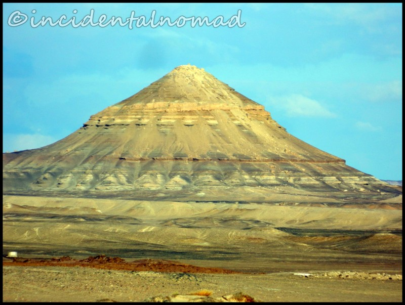 Natural Pyramid - Near Bahariya Oasis