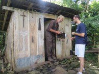He boasted that his house is the largest in Nicaragua