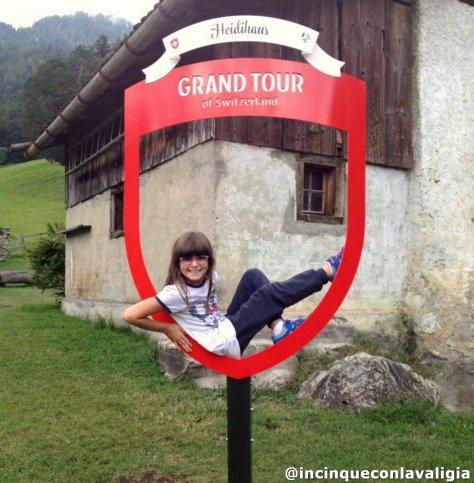 La casa di Heidi in Svizzera