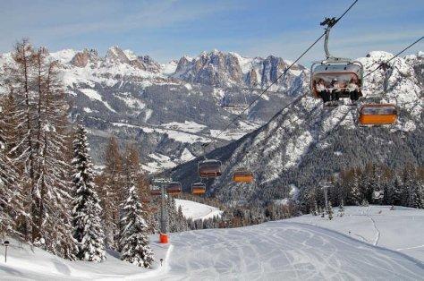 Sciare con i bambini in Trentino