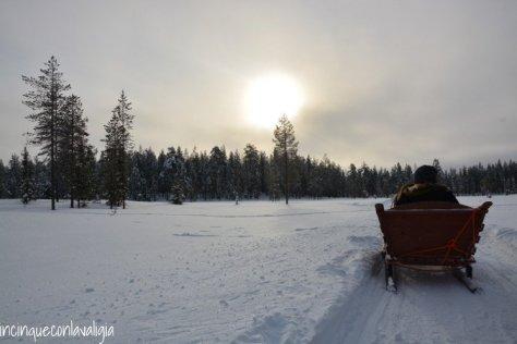 Il vero Babbo Natale in Lapponia escursione con le renne