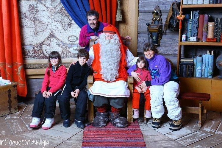 Il vero Babbo Natale in Lapponia