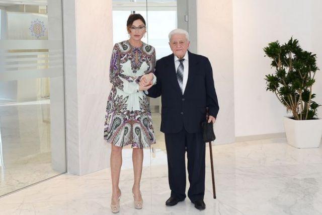 Мехрибан Алиева и Алибала Мамедов