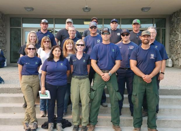 Nevada Type 3 Team 2 IMT take command of fire on 6/28/2019 at 0700