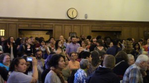 Steven Salaita Press Conference September 9th, 2014  Crowd Shot