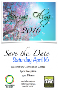 Save the Date Spring Fling 2016