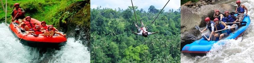 Ayung Rafting and Bali Swing Tour