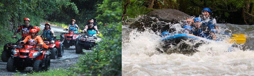 Bali ATV Ride and Rafting Tour