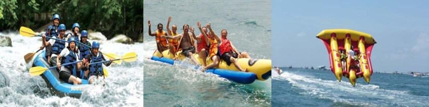Bali Ayung Rafting and Water Sport Tour