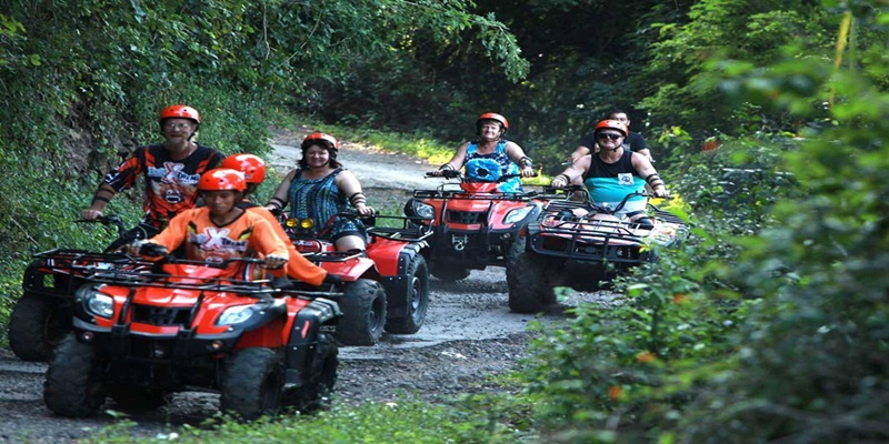 Bali ATV Ride and Tanah Lot Tour